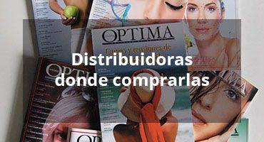 Distribuidoras donde comprar Revista Optima edición Impresa